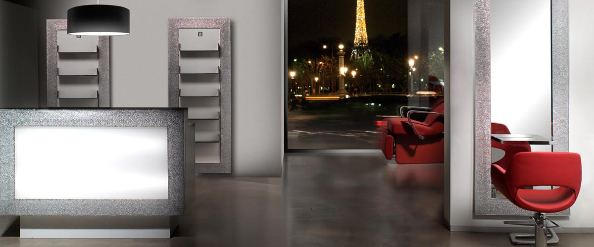 A-Z Style - Ambiance Silver Paris Red Nelson