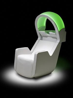 Lichttherapie Waschsessel Ultrawash Chrome
